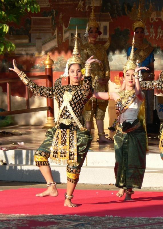 Apsaras dancing in the flesh
