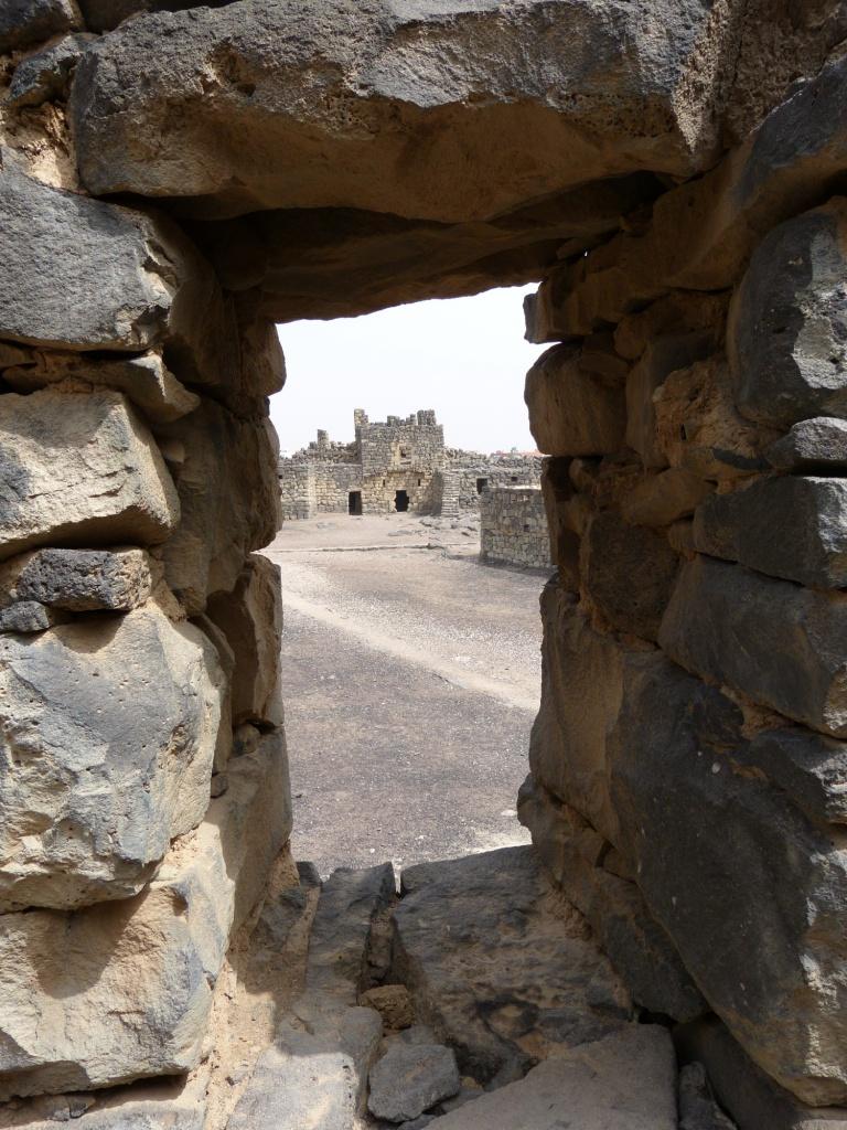 Azraq Castle view