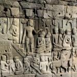Bas relief Bayon temple