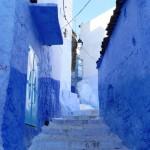 Blinding blue Chefchaouen