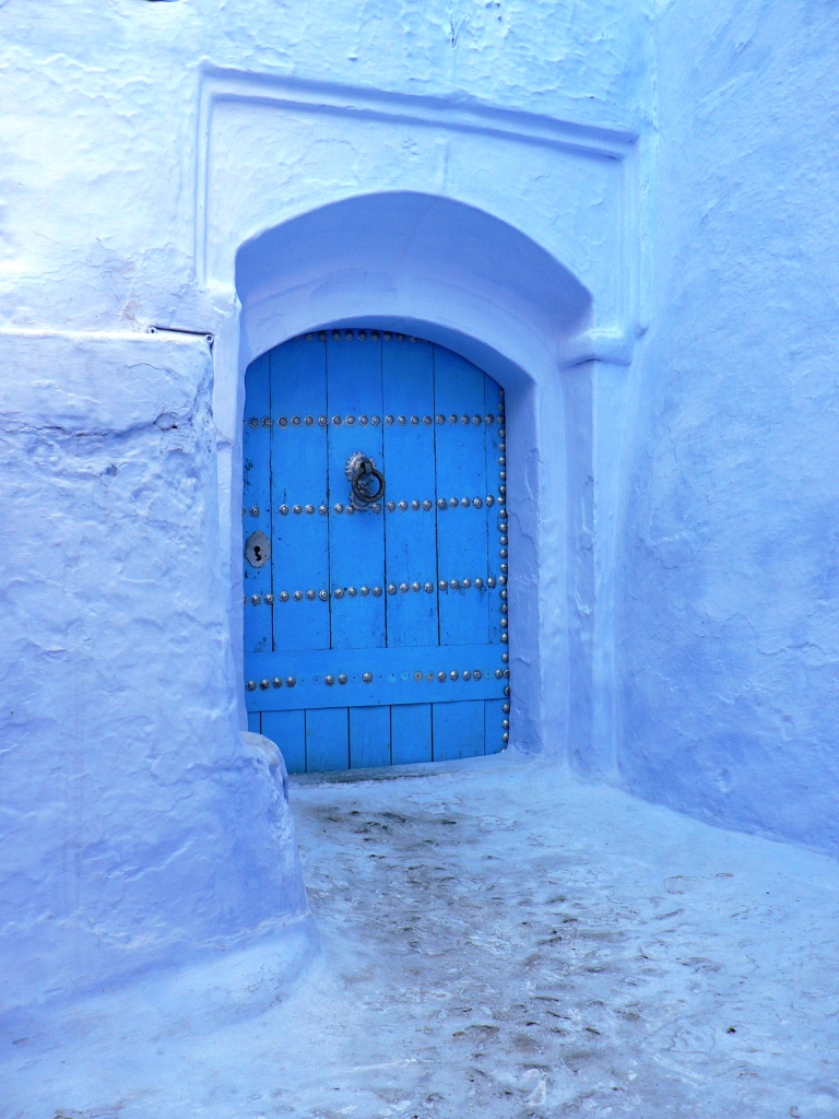 Blue door Chefchaouen