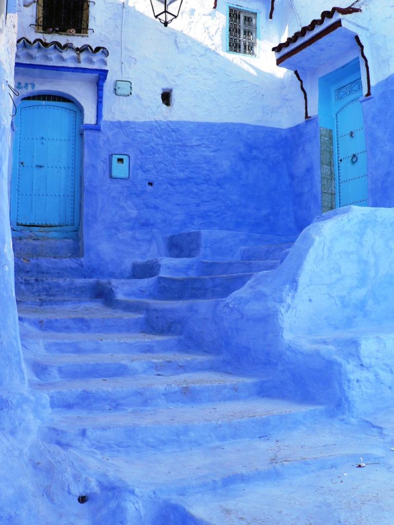 Blue doors Chefchaouen