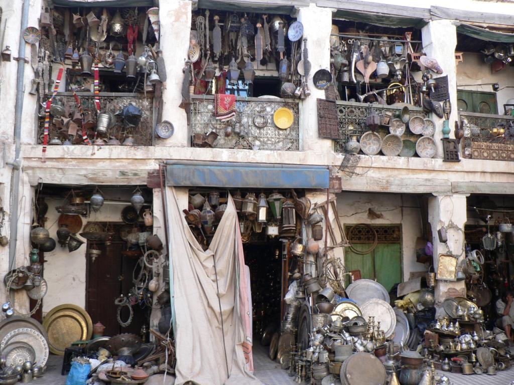 Brass workshop Marrakesh