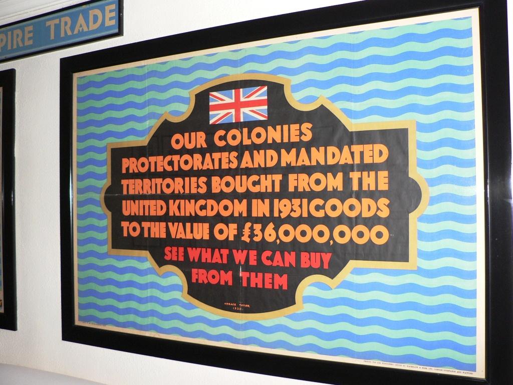 British Empire memorabilia Vic Falls Hotel