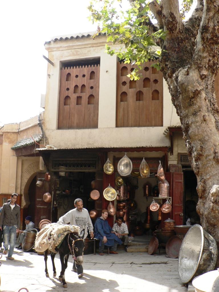 Bronze souq Fez