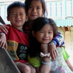 Brother & sisters Laos