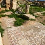 Byzantine mosaics Jerash