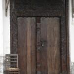 Carved door Lamu