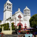 Church Santa Ana El Salvador
