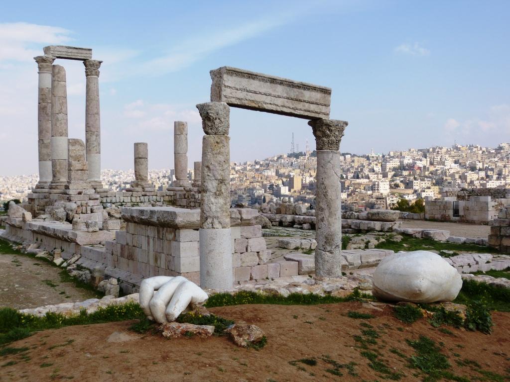 Citadel ruins Amman
