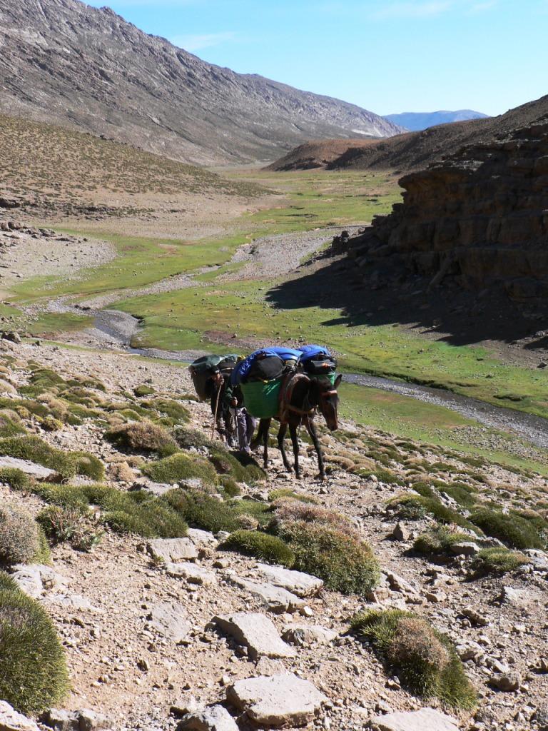 Climb from the Tarkaddit Plateau
