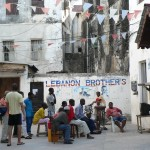Communal TV for sport Zanzibar