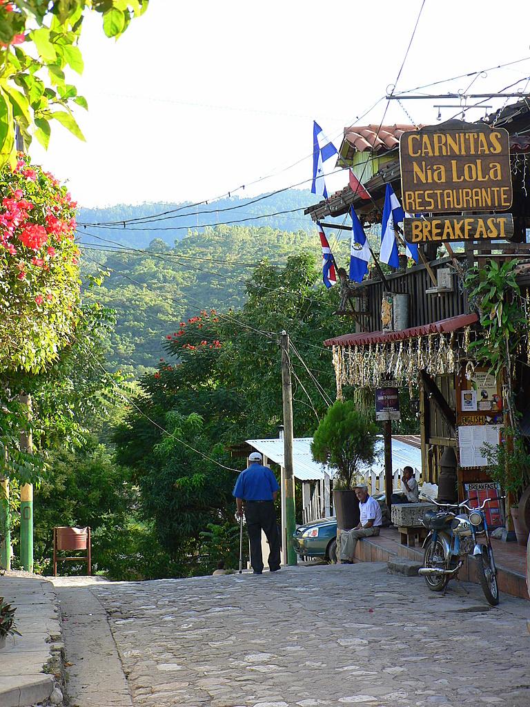 Copan town