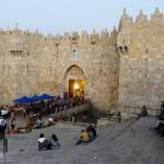 Damascus Gate into Old Jerusalem city
