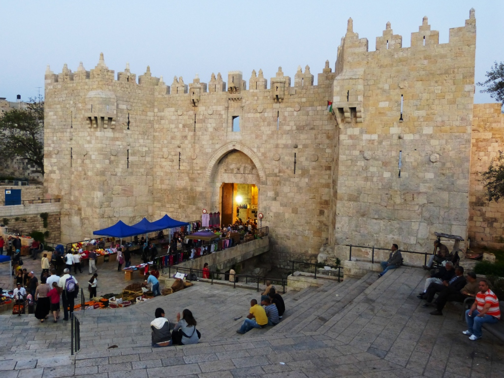 Damascus Gate into Old Jerusalem city