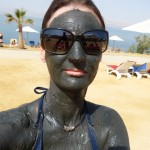 Dead Sea mud bathing