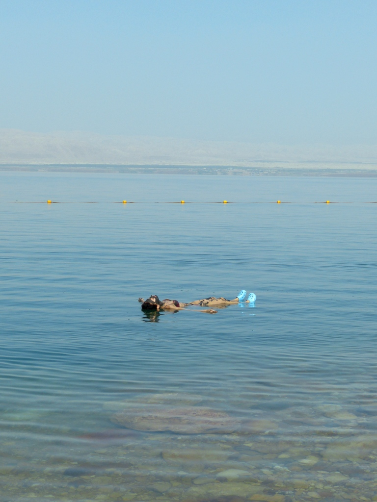 Dead sea soaking