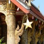 Detail temple Luang Prabang