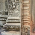Doorway carvings Banteay Samre temple