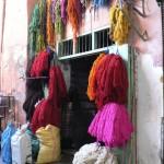 Dyers souq Marrakesh