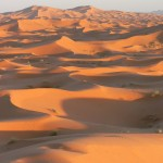 Erg Chebbi dunes sunset
