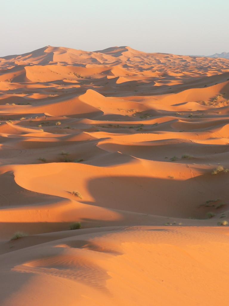 Erg Chebbi dunes sunset