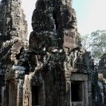 Faces Bayon Temple