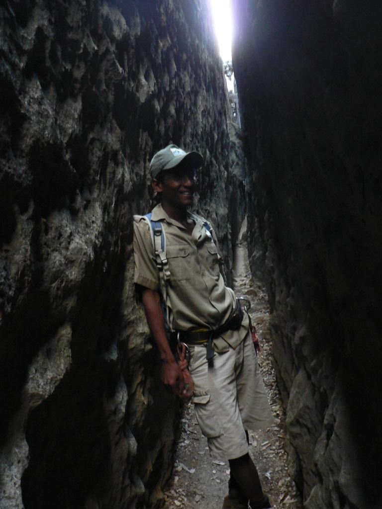 Grand Tsingy corridoor