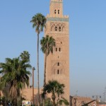 Grand mosque Marrakesh