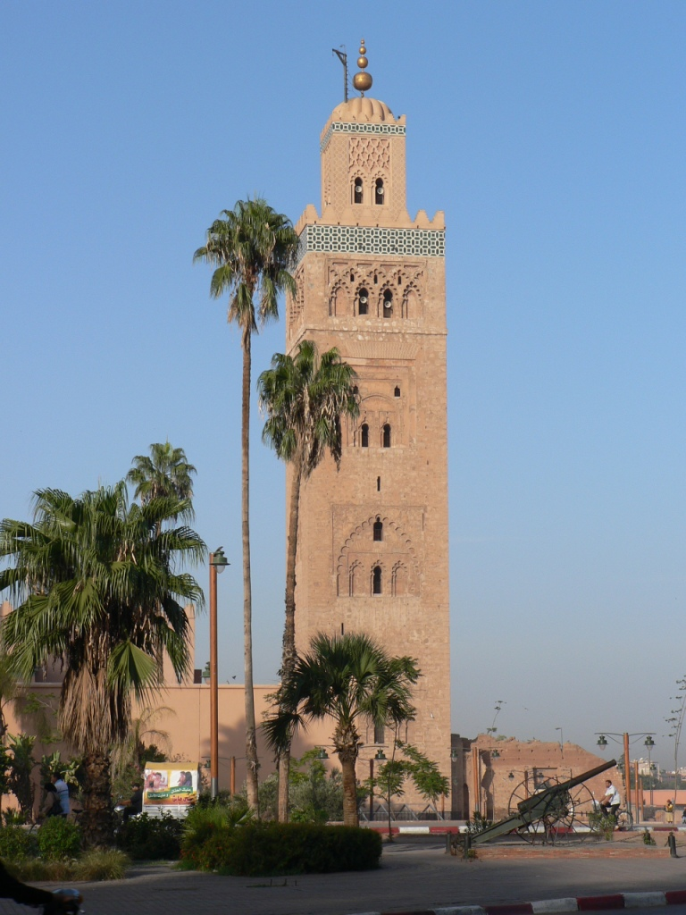 Grand mosque Marrakesh