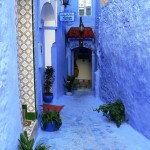 Guesthouse in blue