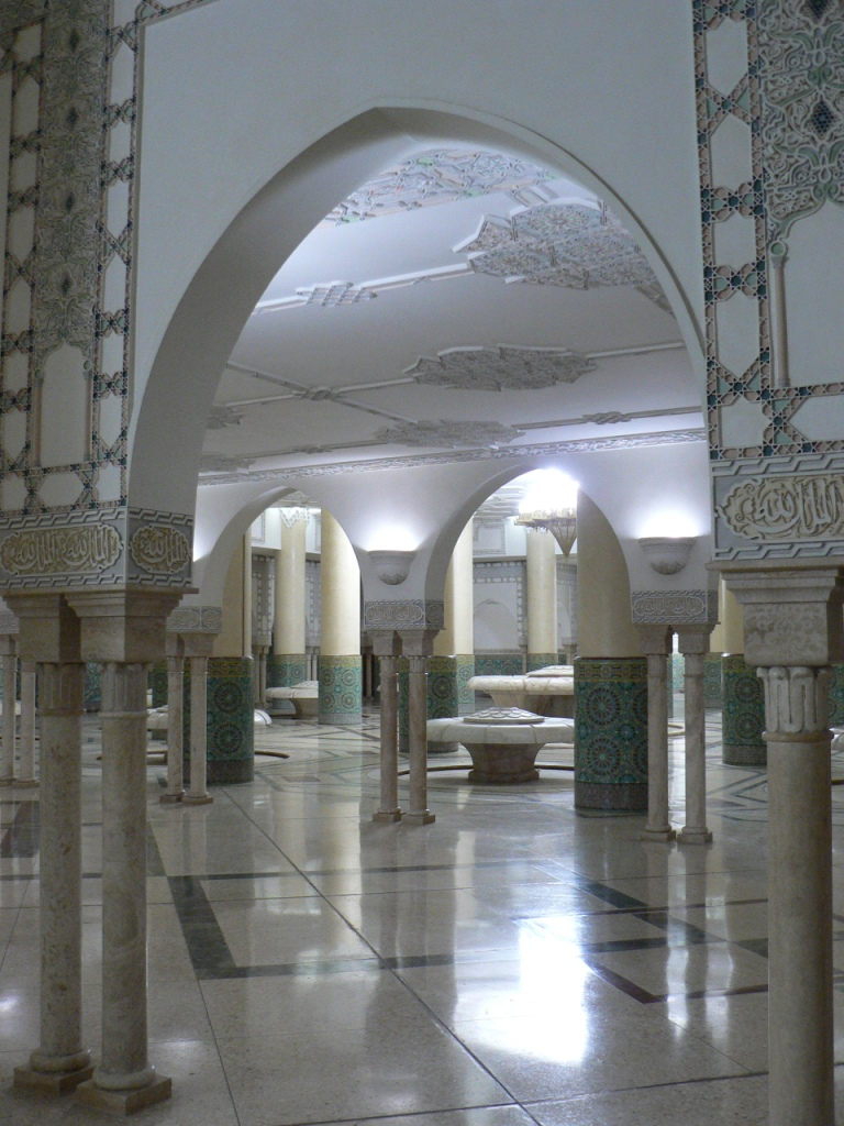 Hassan II ablution room