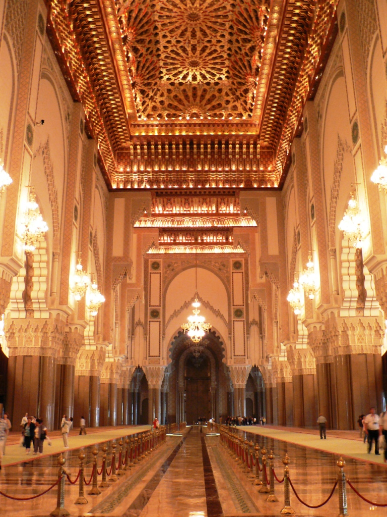 Hassan II prayer hall