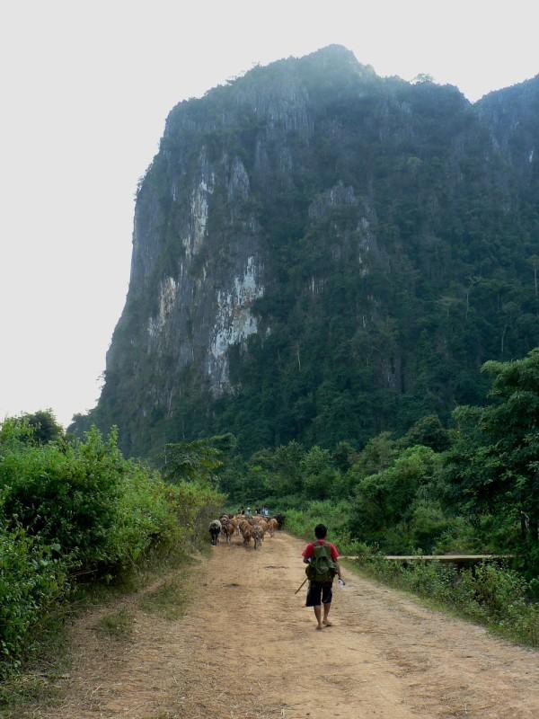Hiking Laos