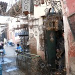 Ironwork shop Marrakesh