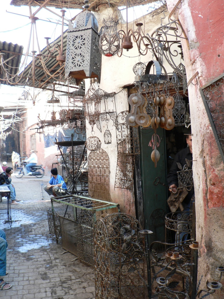Ironwork shop Marrakesh