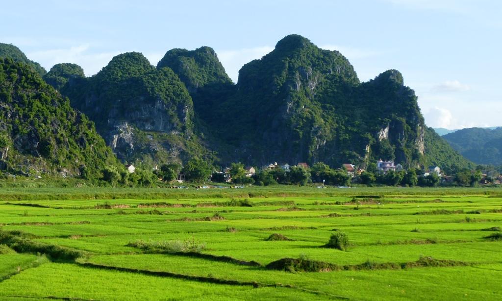 Karst landscape Phong Nha