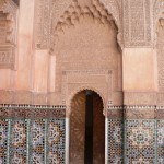 Koranic school architecture Marrakesh