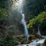 Kuang Si falls Laos