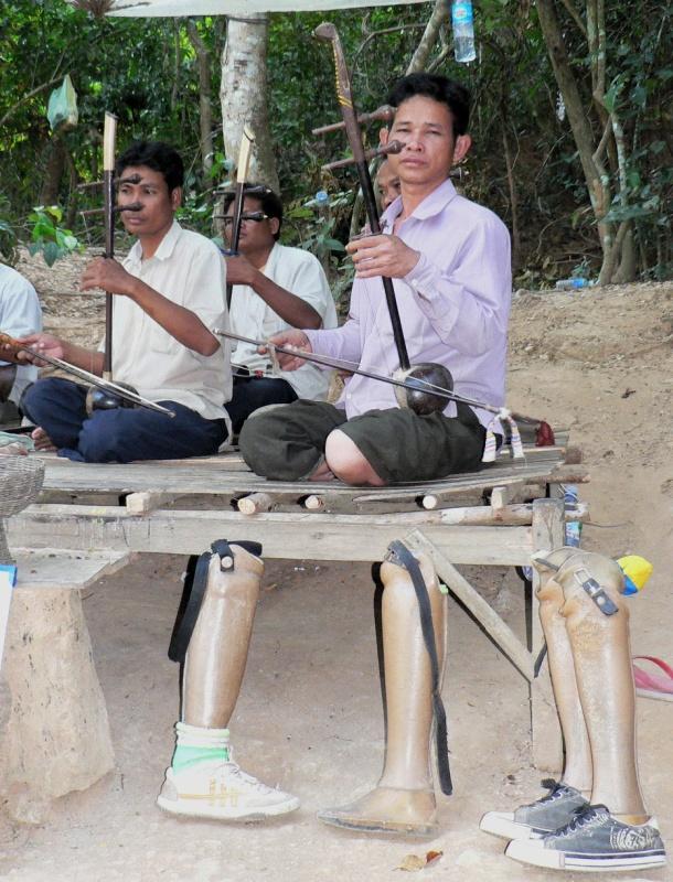 Landmine survivors