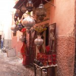 Lantern shop Marrakesh