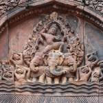 Lintel detail Banteay Srei