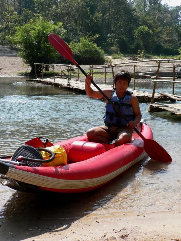 Local guide Sang Laos