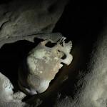 Mayan crystal skeleton