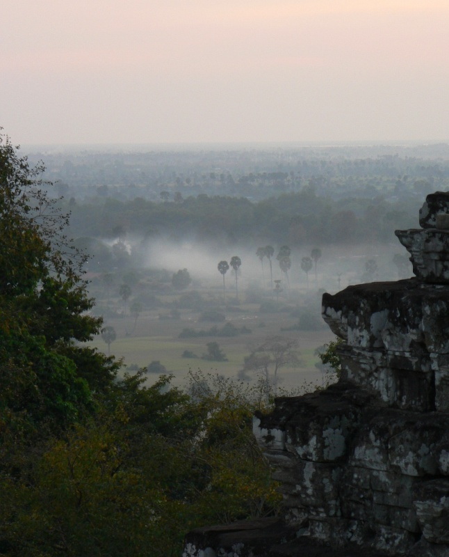 Mists over Siem Reap