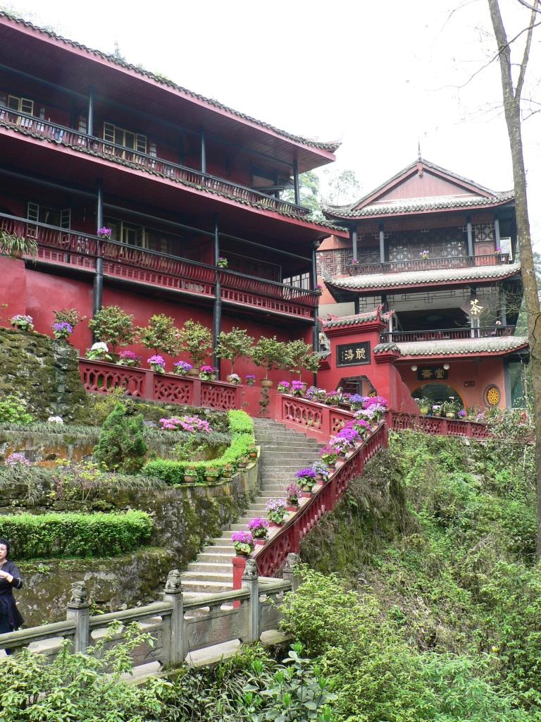 Monasteries Emei trail