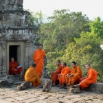 Monks at Bakkheng Temple