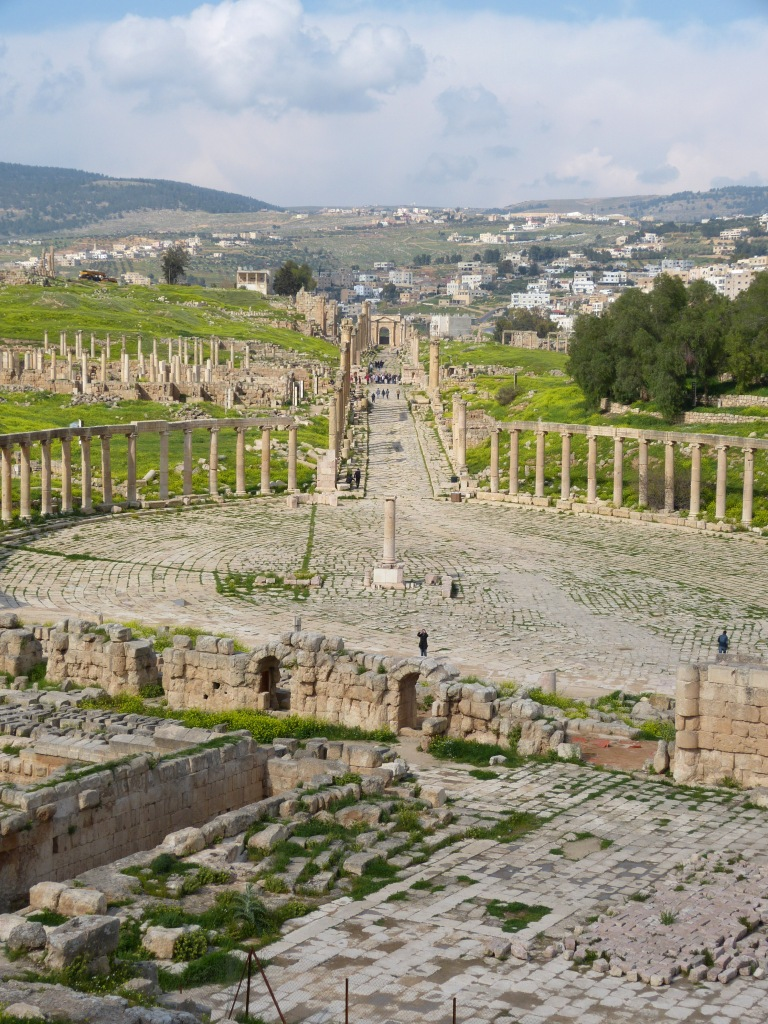 Oval forum Jerash