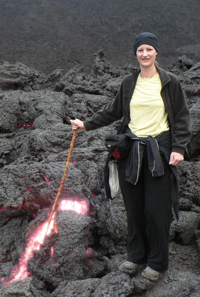 Pacaya Lava