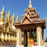 Pha That Luang Golden Temple Vientiane